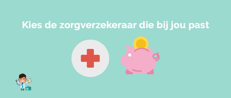 Welke zorgverzekeraar is het goedkoopst in 2019